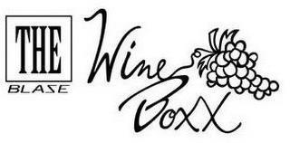THE BLASE WINE BOXX trademark