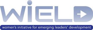 WIELD WOMEN'S INITIATIVE FOR EMERGING LEADERS' DEVELOPMENT trademark