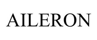 AILERON trademark