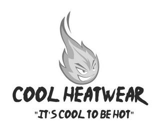 """COOL HEATWEAR """"IT'S COOL TO BE HOT"""" trademark"""
