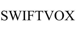SWIFTVOX trademark