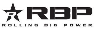 R RBP ROLLING BIG POWER trademark