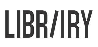 LIBRIIRY trademark