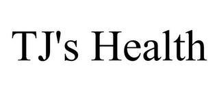 TJ'S HEALTH trademark