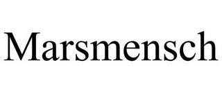 MARSMENSCH trademark
