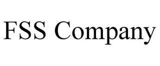 FSS COMPANY trademark