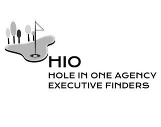 HIO HOLE IN ONE AGENCY EXECUTIVE FINDERS trademark