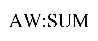 AW:SUM trademark
