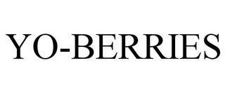 YO-BERRIES trademark