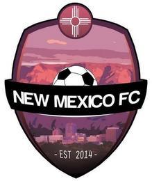 NEW MEXICO FC  - EST 2014 - trademark