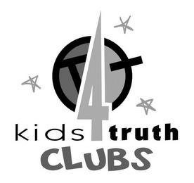 KT KIDS 4 TRUTH CLUBS trademark