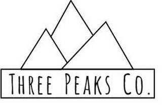THREE PEAKS CO. trademark