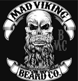MAD VIKING BEARD CO. B MC trademark