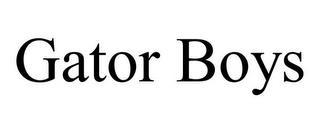 GATOR BOYS trademark