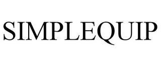 SIMPLEQUIP trademark