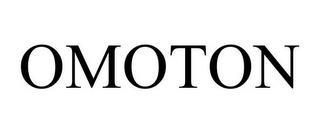 OMOTON trademark