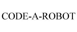 CODE-A-ROBOT trademark