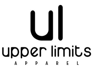 UL UPPER LIMITS APPAREL trademark