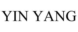 YIN YANG trademark