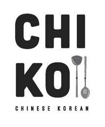CHI KO CHINESE KOREAN trademark