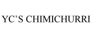 YC'S CHIMICHURRI trademark