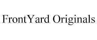 FRONTYARD ORIGINALS trademark