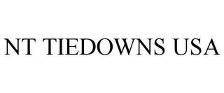 NT TIEDOWNS USA trademark