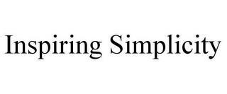 INSPIRING SIMPLICITY trademark