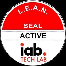 L.E.A.N. SEAL ACTIVE IAB. TECH LAB trademark