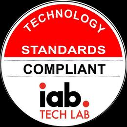 TECHNOLOGY STANDARDS COMPLIANT IAB. TECH LAB trademark