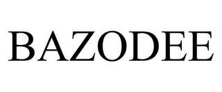 BAZODEE trademark