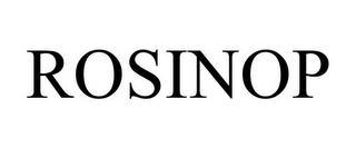 ROSINOP trademark