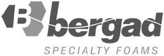 B BERGAD SPECIALTY FOAMS trademark