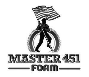 MASTER 451 FOAM trademark