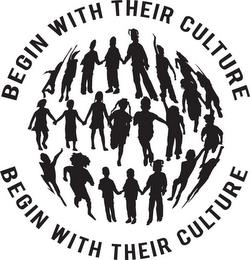 BEGIN WITH THEIR CULTURE trademark
