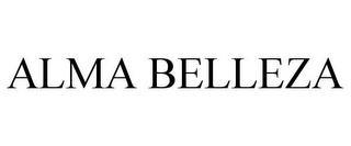 ALMA BELLEZA trademark