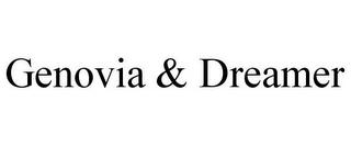 GENOVIA & DREAMER trademark