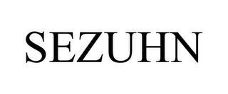 SEZUHN trademark