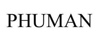 PHUMAN trademark