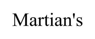 MARTIAN'S trademark