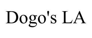 DOGO'S LA trademark