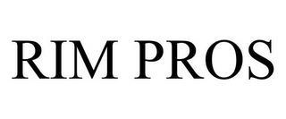 RIM PROS trademark