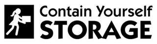 CONTAIN YOURSELF STORAGE trademark