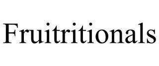 FRUITRITIONALS trademark