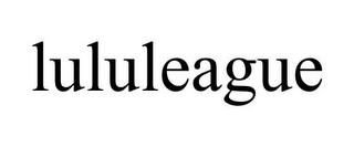 LULULEAGUE trademark