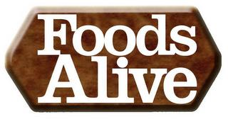 FOODS ALIVE trademark