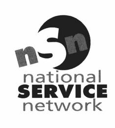 NSN NATIONAL SERVICE NETWORK trademark