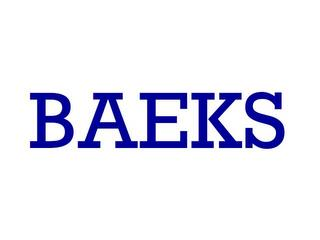 BAEKS trademark
