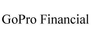 GOPRO FINANCIAL trademark