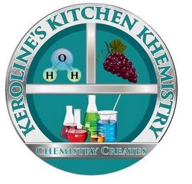 KEROLINE'S KITCHEN KHEMISTRY H O H CHEMISTRY CREATES trademark